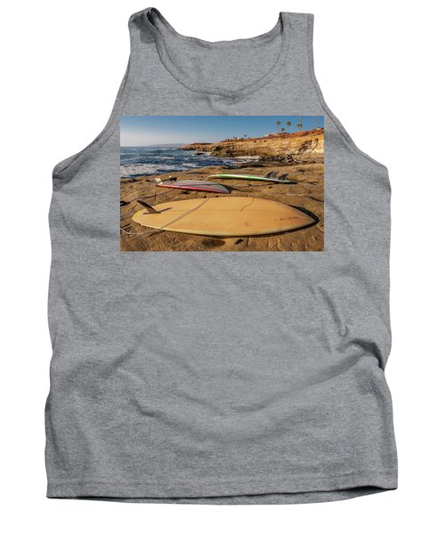 The Boards Tank Top by Peter Tellone