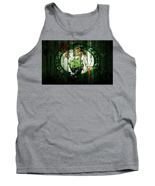 The Boston Celtics 5d Tank Top by Brian Reaves