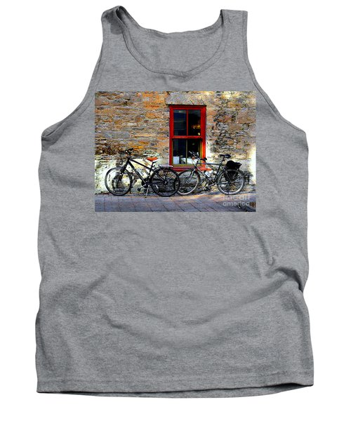 Tank Top featuring the photograph The Break by Elfriede Fulda