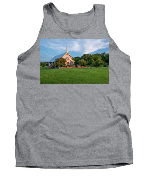 The Brooks At Weatherford Wedding Chapel Tank Top