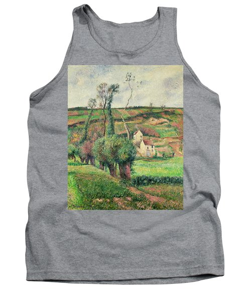 The Cabbage Slopes Tank Top by Camille Pissarro