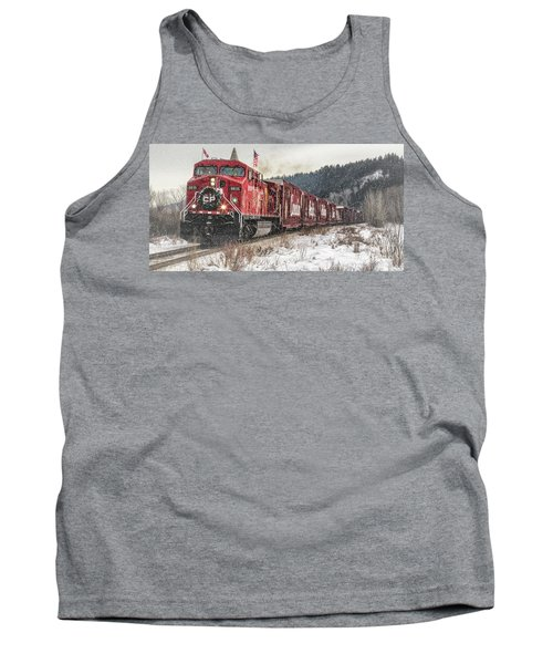 The Canadian Pacific Holiday Train Tank Top