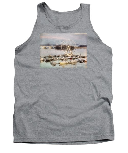 The Capital Wheel At National Harbor Tank Top
