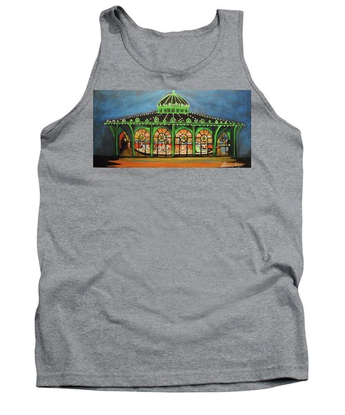 The Carousel Of Asbury Park Tank Top