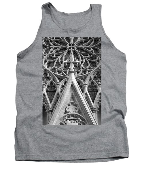 The Cathedral Of St. Patrick Close Up Tank Top
