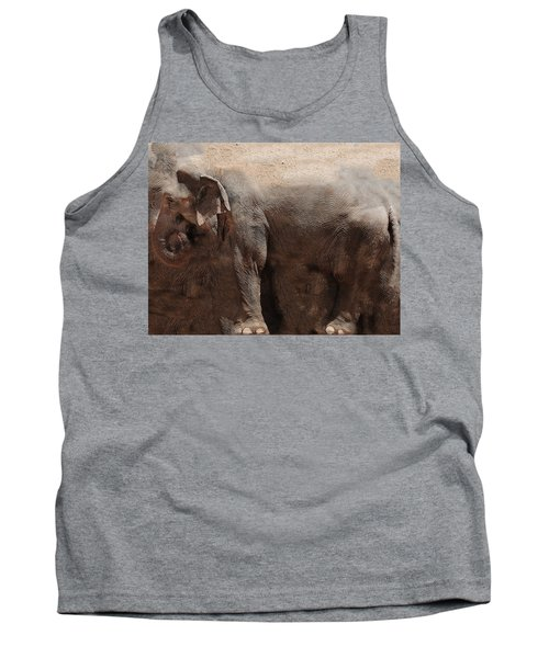 Tank Top featuring the digital art The Cave by Robert Orinski