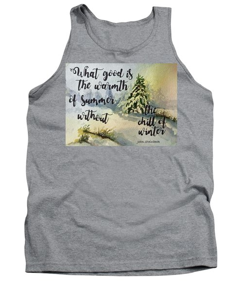 The Chill Of Winter Tank Top