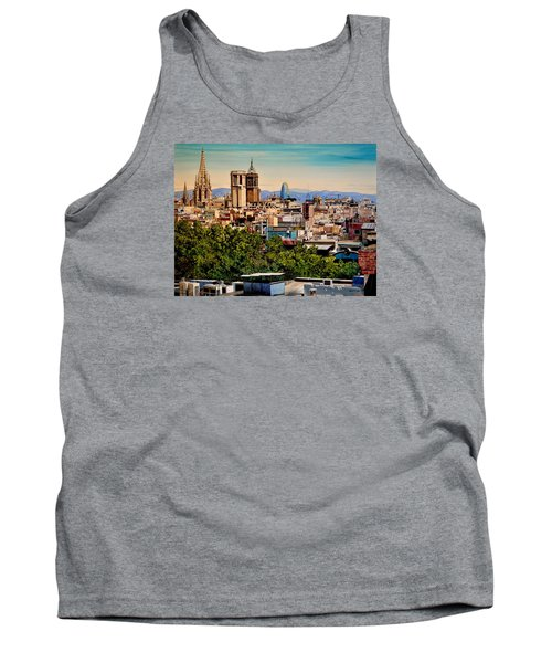 The Church's Of Barcelona Tank Top