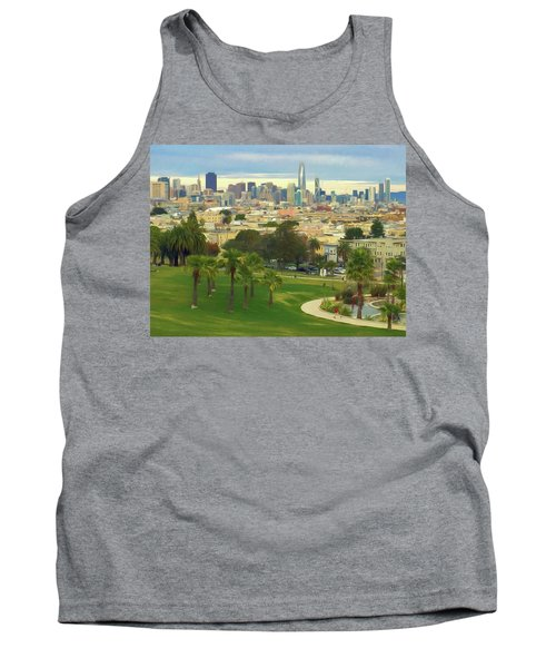The City From Dolores Park Tank Top