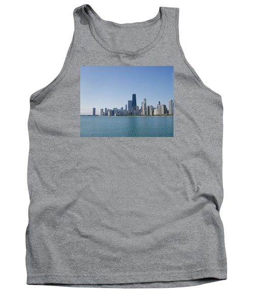 Tank Top featuring the photograph The City Of Chicago Across The Lake by Skyler Tipton