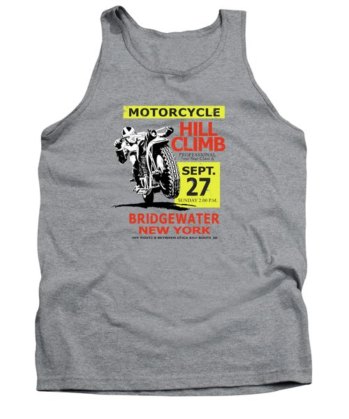 The Classic Motorcycle Hill Climb Tank Top