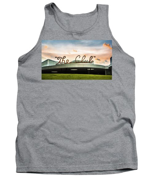 Tank Top featuring the photograph The Club Panorama by Parker Cunningham