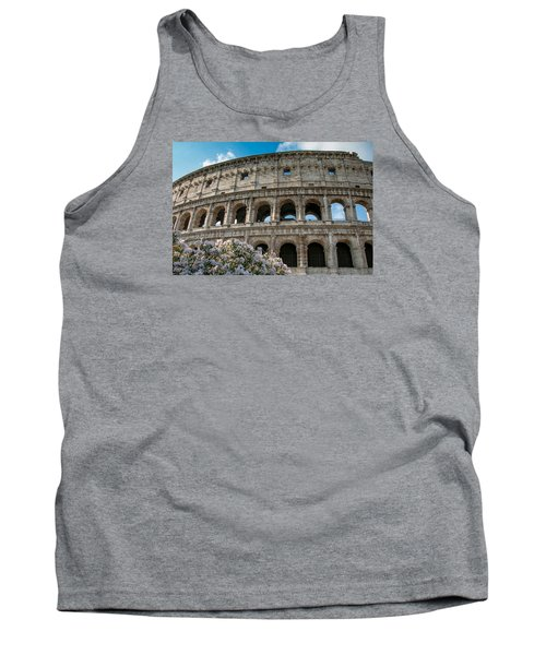 Tank Top featuring the photograph The Coliseum In Rome by Kathleen Scanlan