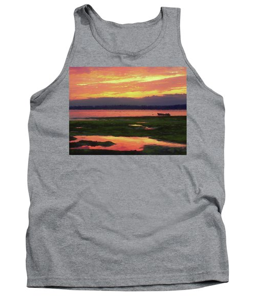 The Colors Of Ship Creek Tank Top