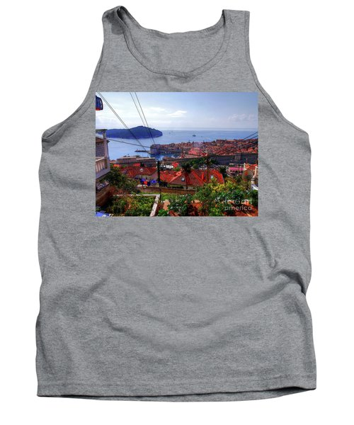 The Colourful City Of Dubrovnik Tank Top