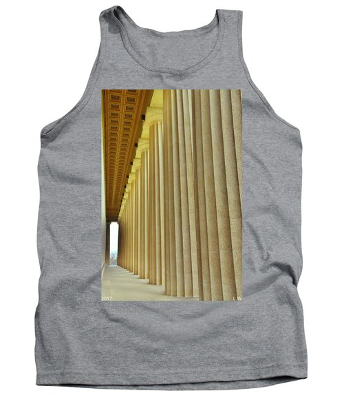 The Columns At The Parthenon In Nashville Tennessee Tank Top