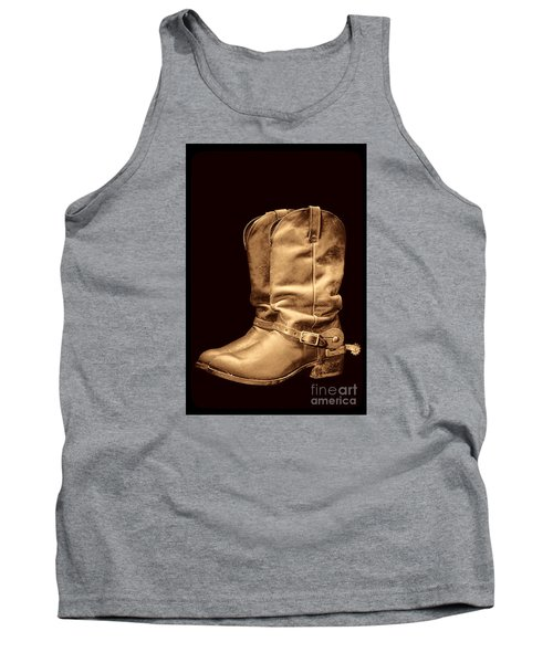 The Cowboy Boots Tank Top