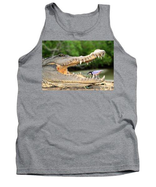 The Crocodile Bird Tank Top