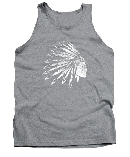 The Crying American Indian Tank Top