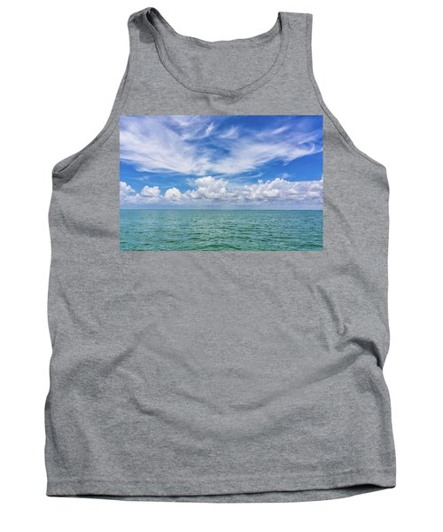 The Dance Of Clouds On The Sea Tank Top