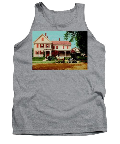 The Doctor Heads Out On A House Call Tank Top