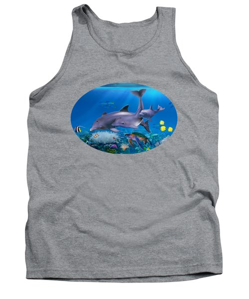 The Dolphin Family Tank Top