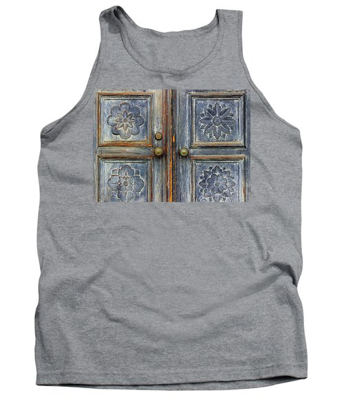 The Door Tank Top by Ranjini Kandasamy