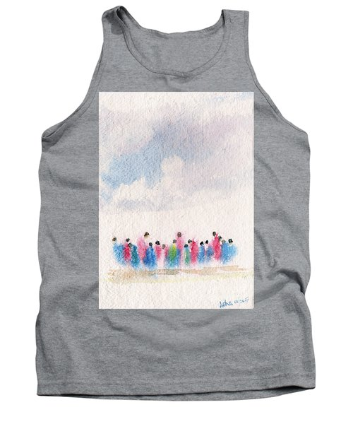 The Drifting People Tank Top