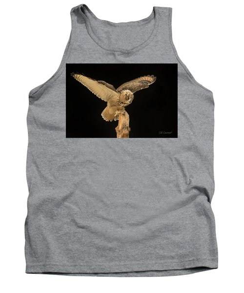 The Eagle-owl Has Landed Tank Top