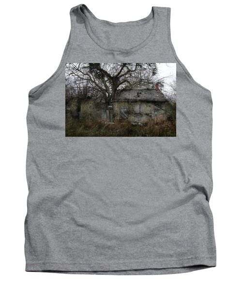 Tank Top featuring the photograph The Earth Reclaims by Jim Vance