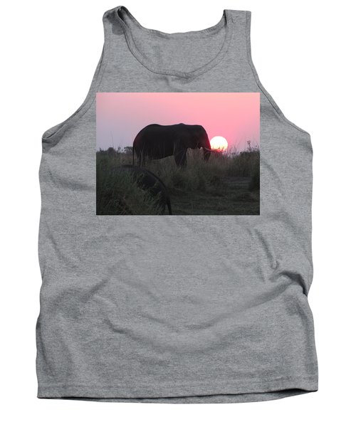 The Elephant And The Sun Tank Top