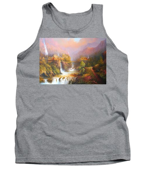 Kingdom Of The Elves Tank Top