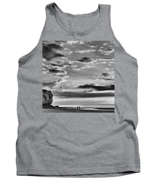 The End Of The Day, Old Hunstanton  Tank Top by John Edwards