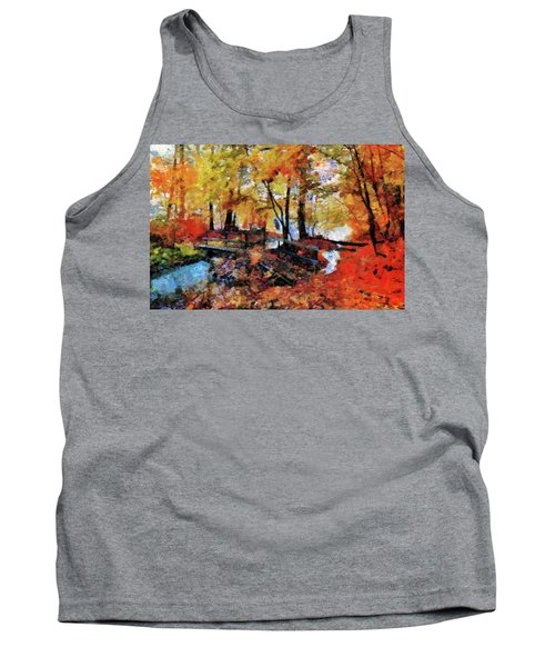 The Failing Colors Of Autumn Tank Top
