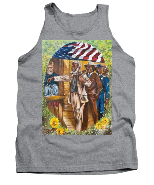 Historical  Artwork     First Vote - 1867 Tank Top