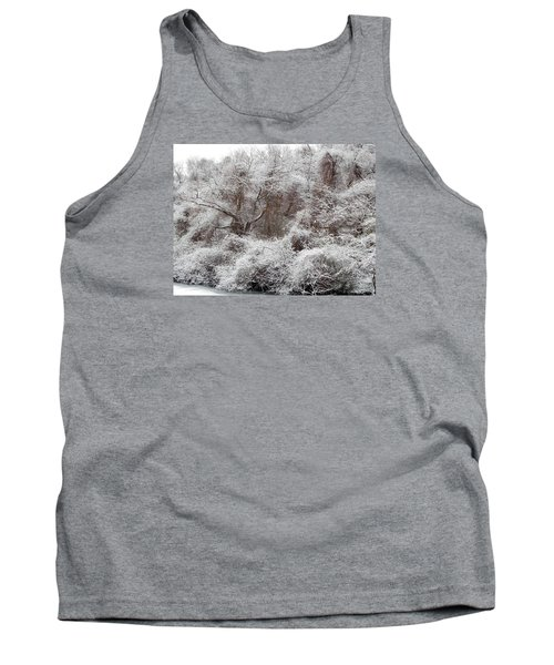 Tank Top featuring the photograph The Forest Hush by Lynda Lehmann