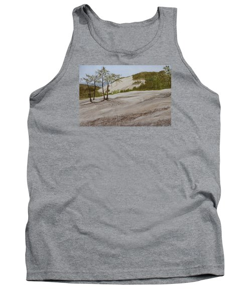 Tank Top featuring the painting The Four Sisters by Joel Deutsch