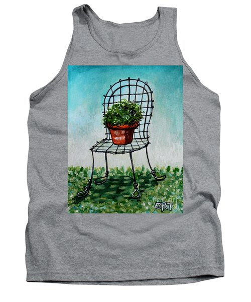 The French Garden Cafe Chair Tank Top