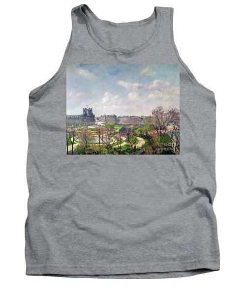 The Garden Of The Tuileries Tank Top