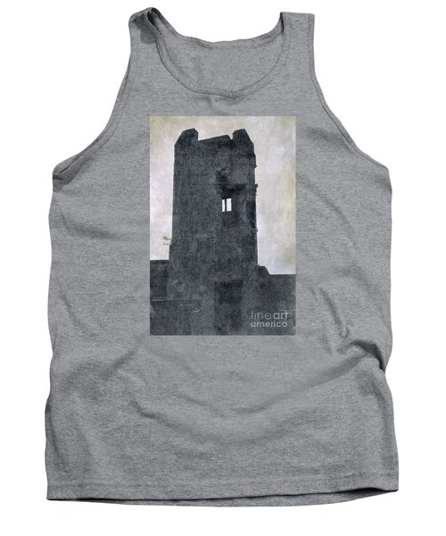 The Ghostly Tower Tank Top by Linsey Williams