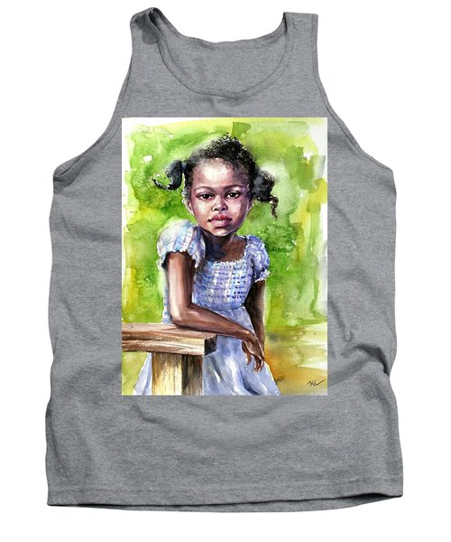 The Girl On The Veranda Tank Top