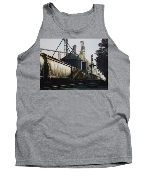 The Grain Train At Shaker Tavern, Union, Kentucky Tank Top