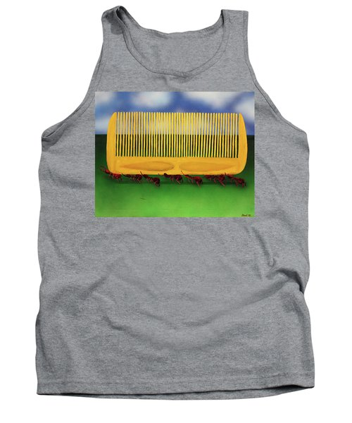 The Great Escape Tank Top by Thomas Blood