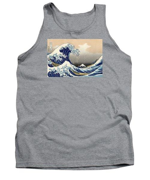 The Great Wave Off Kanagawa Tank Top
