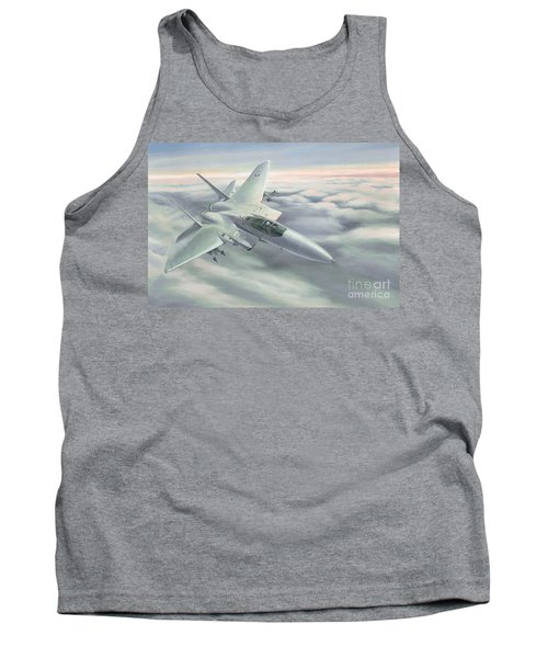 The Grey Ghost Tank Top by Michael Swanson