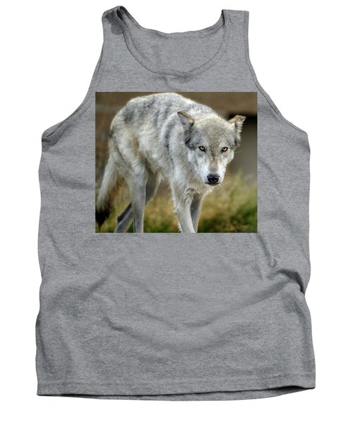 The Grey Wolf Shake Tank Top