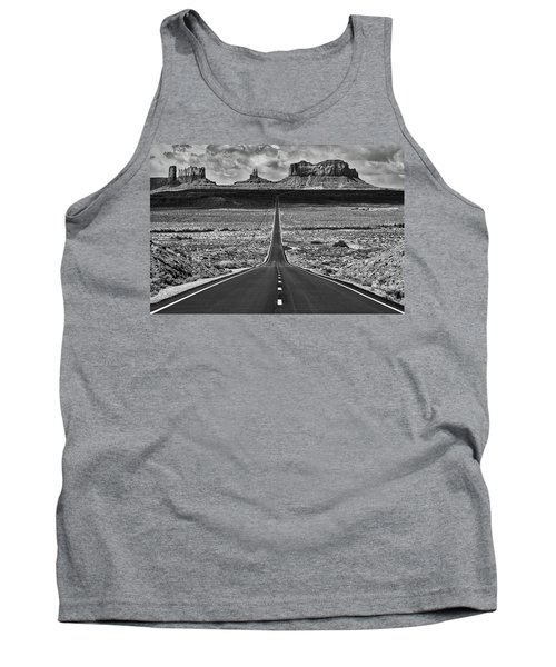 The Gump Stops Here Tank Top by Darren White