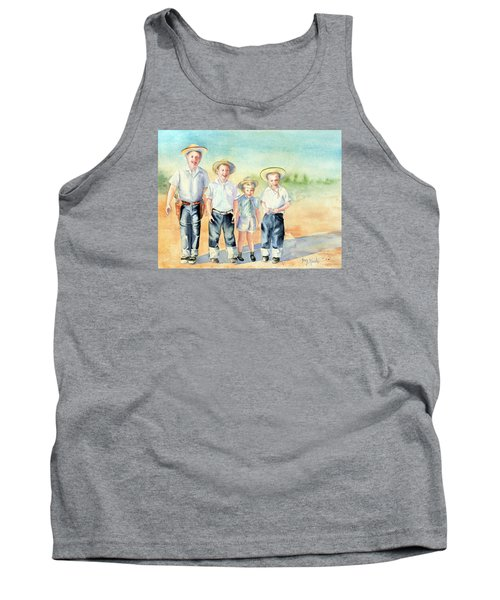 The Happy Wranglers Tank Top