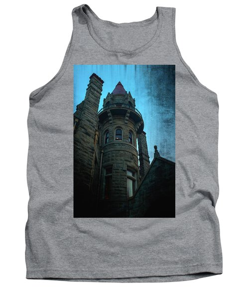 The Haunted Tower Tank Top by Keith Boone