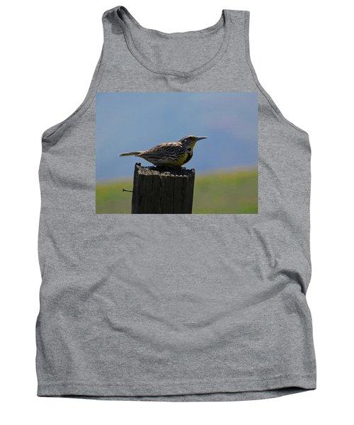 The Hawk Squat Tank Top